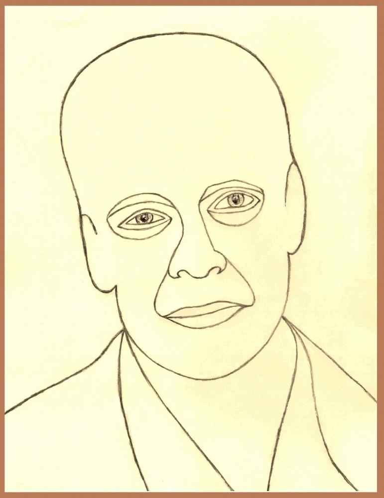 Bruce Willis by Vuilletjossjoss